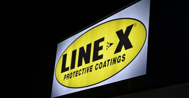 LINE-X看板